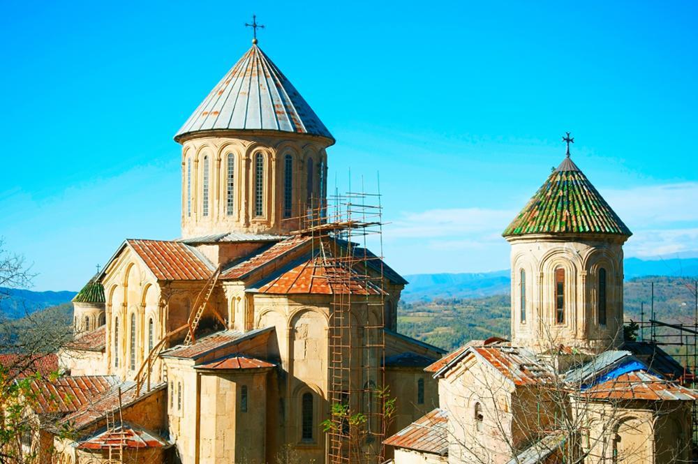 Les sites géorgiens inscrits à l'Unesco